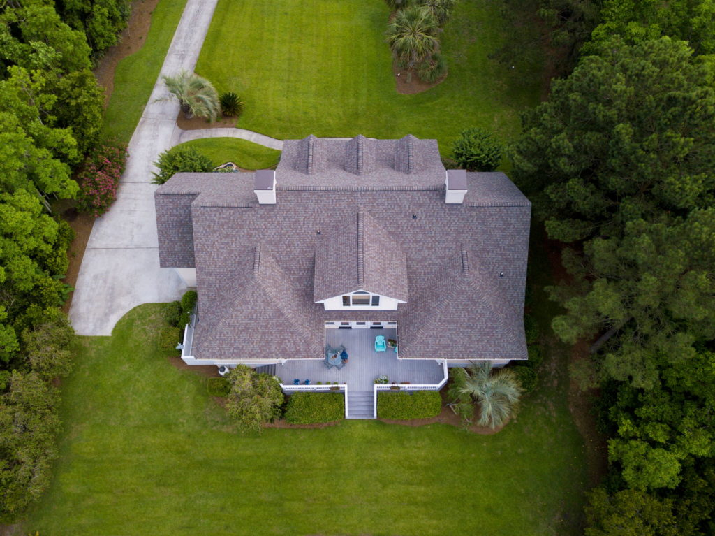 Asphalt roof replacement service in Athens, GA.