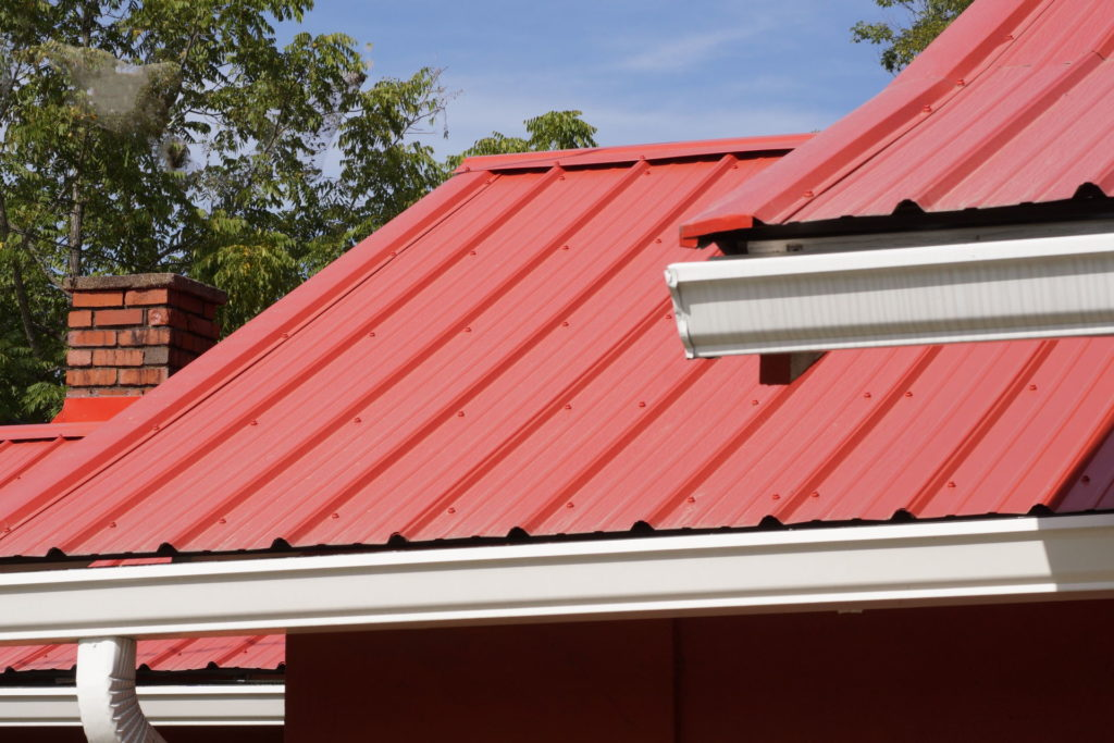 red metal roofing in Athens, GA