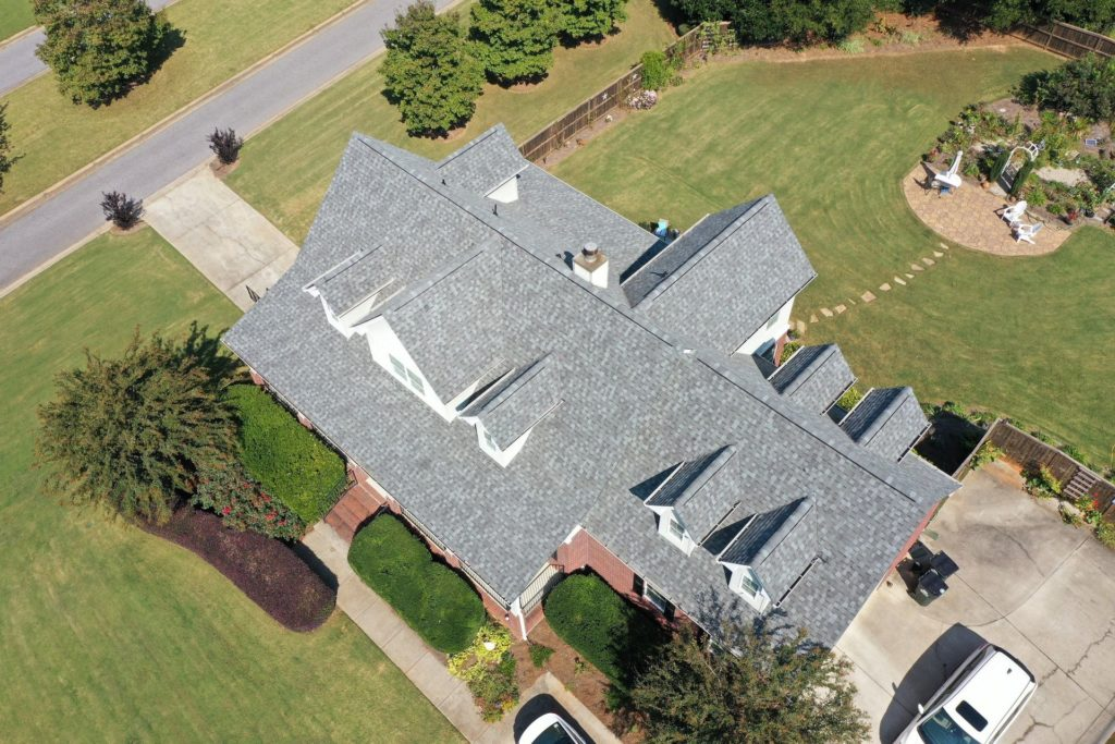 Grey roof replacement in Winterville, GA